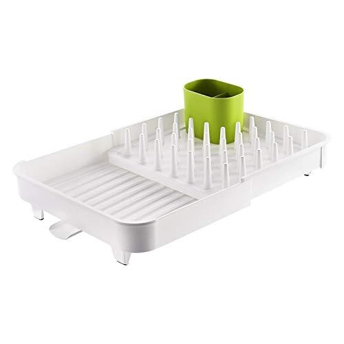 Tendedero creativo ajustable fácil de limpiar para ollas, cuencos, platos y utensilios de cocina