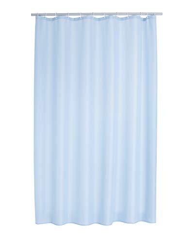 RIDDER 45353S-350 Duschvorhang Textil ca. 180x200 cm Madison pastell-blau