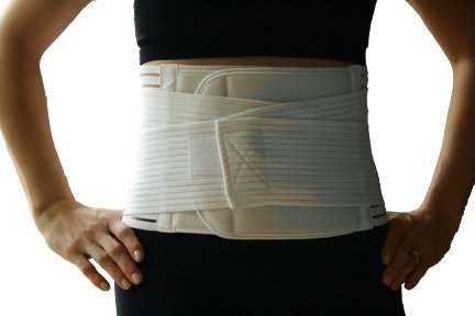 Alpha Medical Double Closure Abdominal Hernia Binder; Abdominal Hernia Support; Hernia Reduction (XX-Large)