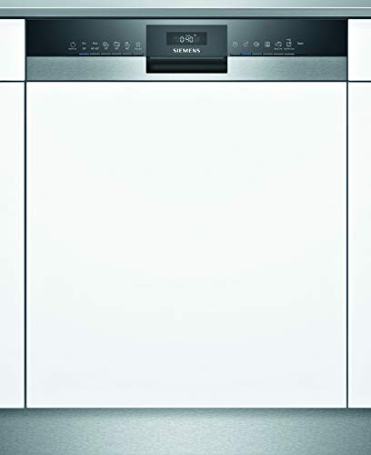 Siemens SN55ZS03AE iQ500 Teilintegrierter Geschirrspüler / C / 74 kWh / 13 MGD / Zeolith Trocknung / Smart Home kompatibel via Home Connect / glassZone im Oberkorb