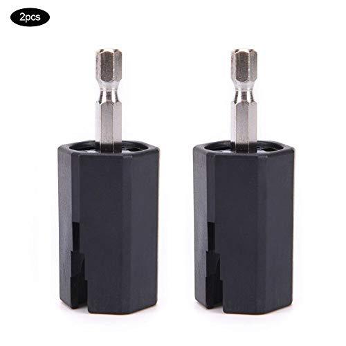 2PCS String Winder, Duurzaam Stevige Stemsleutel Puller Elektrische Boor, Voor Gitaar Bas Reparatie Tool Kit