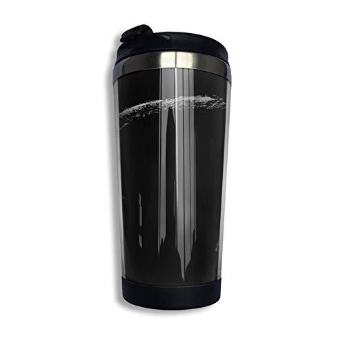 DJNGN Ivar Pullover Hoodie Coffee Travel Mug Taza Vaso aislado al vacío de acero inoxidable 13.5 oz