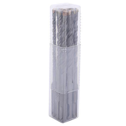 Herramienta de perforación de vástago redondo Brocas de cruceta de martillo eléctrico 9pcs para perforación de hormigón