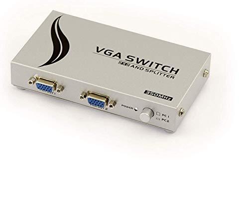 KALEA-INFORMATIQUE © - Cable VGA de 2 a 2 puertos (banda ancha...