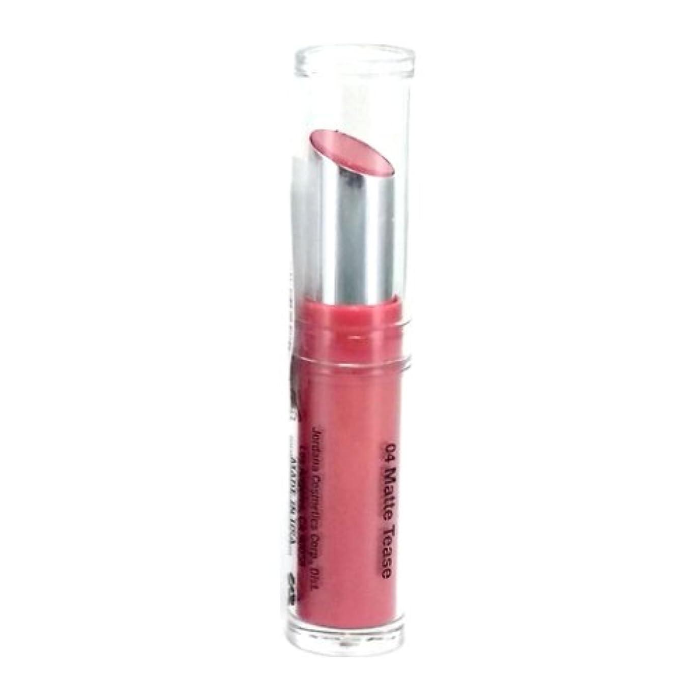 成功ちょうつがい髄(3 Pack) JORDANA Modern Matte Lipstick - Matte Tease (並行輸入品)