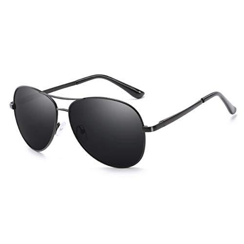Gafas de sol deportivas, gafas de sol vintage, NEW Photochromic Sunglasses Men Polarized Chameleon Discoloration Driving Aviation Sun Glasses For Men Black Grey