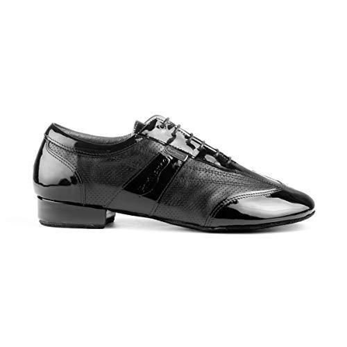 PortDance PD024 Pro - Zapatos Baile Hombre Piel Barniz