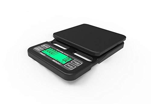 Báscula Digital para Cocina de con Pantalla LCD Balanza de Alimentos, con función de tara,alta precisión escala digital -Vino tinto 3kg / 0.1