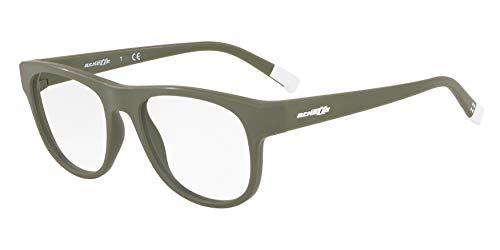 Arnette 0AN7170 Monturas de gafas, Matte Military Green, 54 para Hombre