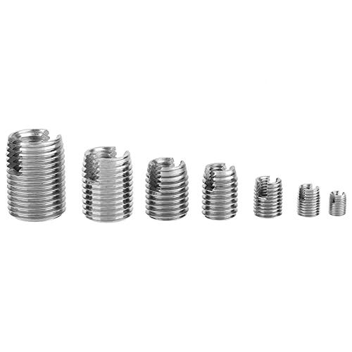 Der Gewindeschneideinsatz mit hoher Härte, Befestigungswerkzeug für Gewindereparatureinsätze, verbessert die Festigkeit und Stabilität bei beschädigtem InnengewindeKunststoff, Kupfer