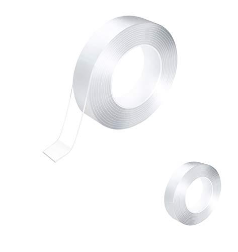 FANDEARRO 補修テープ 隙間テープ 防水テープ 台所コーナーテープ カビ 油 汚れ 防止 強力 粘着 耐熱 キッチン 浴室 クリア 透明 3cm*3m (透明1)