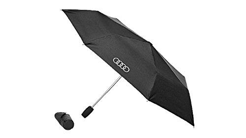 Audi 3121600200 zakparaplu klein origineel scherm paraplu zwart titanium