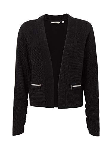 TOM TAILOR TOM TAILOR Mädchen Strick & Sweatshirts Sweat-Blazer Caviar|Black,164,K1010,2999