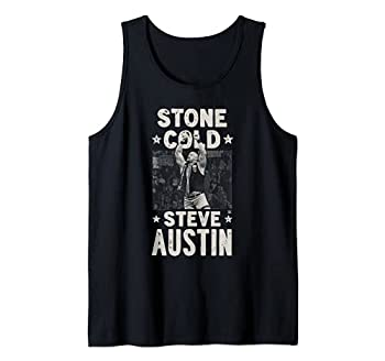 WWE Stone Cold Steve Austin 1 Color Arms Up Tank Top