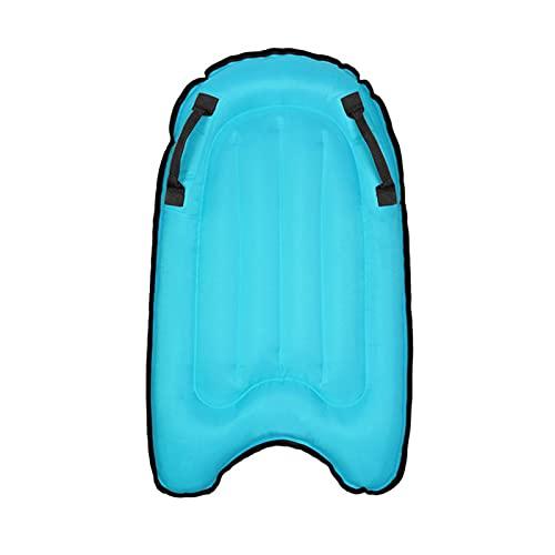 K-Park Bodyboard inflable portátil, tablas de surf plegables con asa, para niños adultos natación ayuda piscina flotante física