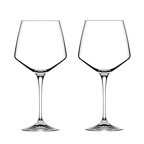 MasterPro Q3397 Set 2 Calici Grandi Vini 72cl Vetro Collezione Wine