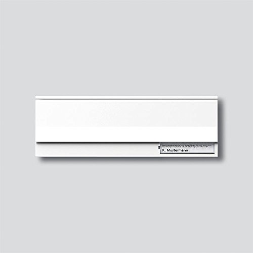 Siedle 2543208 Briefklappenmodul BE611-3/1-0 W, weiß