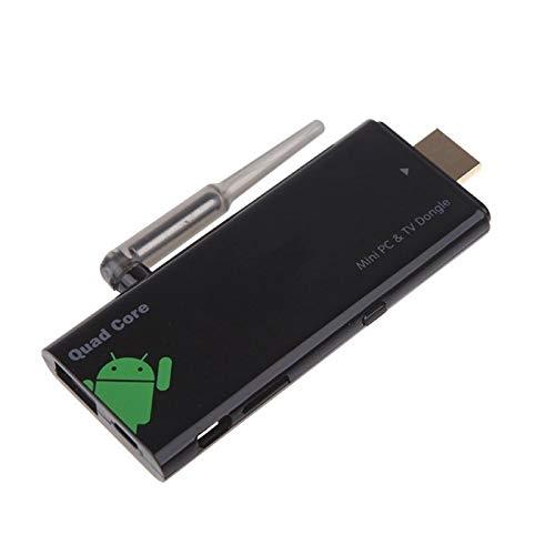 Leluckly1 Cavo Compatto e Leggero CX-919 Mini PC Android 4.2 TV Stick Dongle, CPU: RK3188 Quad Core, 2GB di RAM + 8GB Rom, Supporto WiFi + HDMI + USB Mouse, Semplice e Pratico