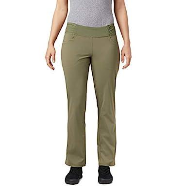 Mountain Hardwear Womens Dynama Pant for Climbing, Hiking, Cross-Training, or Everyday Use - Light Army - Large - Regular