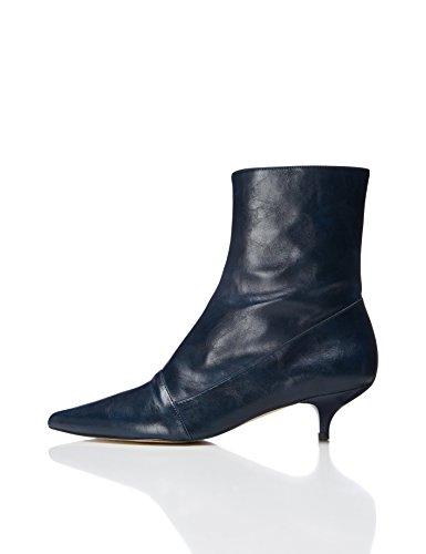 find. Stiefel mit Kitten-Heels, Blau (Blue), 39 EU