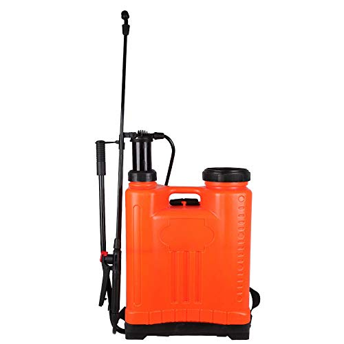 Flesser Backpack Sprayer 5 Gallon Knapsack Weed Sprayer,No Leak and Heavy Duty Manual Sprayer Suitable for Agricultural Gardening Use
