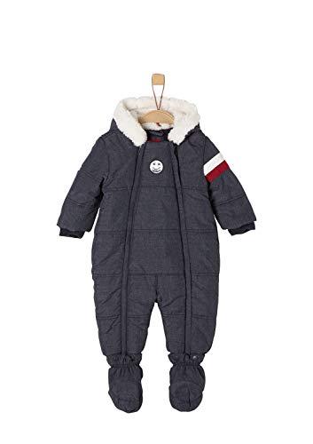 s.Oliver Junior Baby-Jungen 59.810.85.2756 Schneeanzug, Blau (Dark Blue Melange 58w8), 68