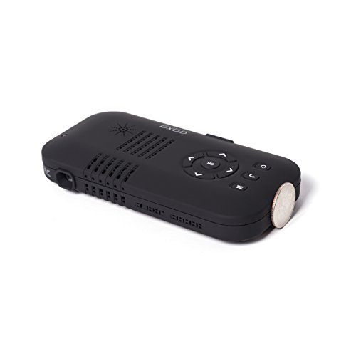 AAXA P3-X Pico Projector with 120 Minutes Battery Life, Pocket Size, Mini-HDMI, 20,000 Hour LED Life, Onboard Media Player, 85 Lumens Photo #2