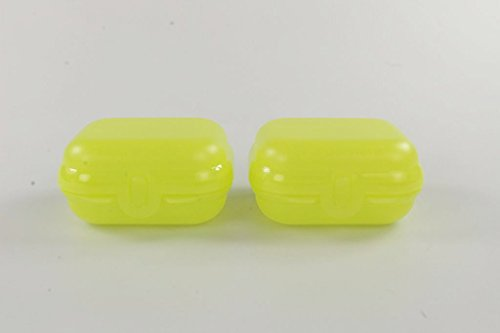 TUPPERWARE To Go Mini-Twin gelb Größe 1 Brotdose Box Kindi MiniTwin (2)