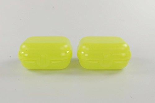 TUPPERWARE To Go Mini-Twin gelb (2) Größe 1 Brotdose Kindi Box MiniTwin P 24039