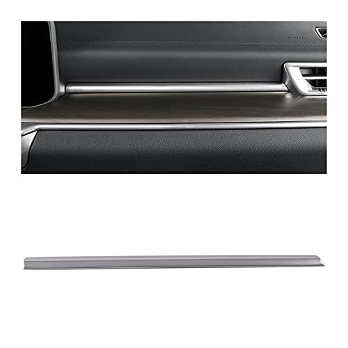 shiyi Ajuste para KIA K5 Optima 2020 2021 Interior de acero inoxidable Consola de la cabeza de la ventana de salida de la ventana de ventilación de la ventana de elevación del interruptor del interrup