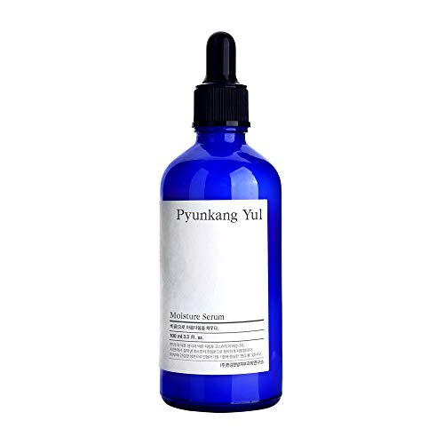 PYUNKANG YUL Moisture Serum for Face - Korean Face Serum with Oriental herbs and Olive Oil giving Oil and Water Balance and Skin Calming Effect - Moisturizer for Oily and Combination Skin - 3.4 Fl Oz