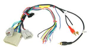 Carxtc Car Radio Electronic Wire Harness for Installing an Aftermarket Stereo, Fits Ford F-450 2008-2012 - Intergrates with Factory Amp and Subwoofer if Present