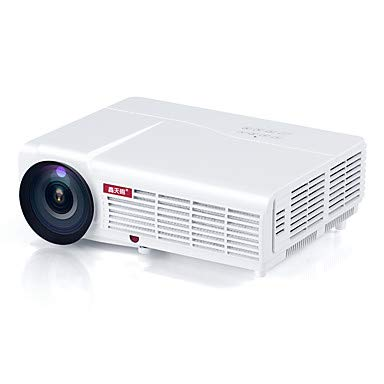 Congming HTP LED-96 LCD Cine En Casa Proyector LED Proyector 3000 LM Soporte WXGA (1280X800) 60-120 Pulgadas Pantalla/± 15 °