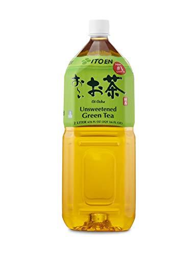 Oi Ocha Green Tea, 2 Liter Bottle (Pack of 6), Sugar Free