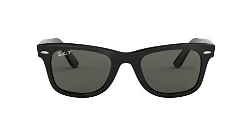 Ray-Ban Wayfarer 901/58 Gafas de sol, Black, 50 Unisex-Adulto