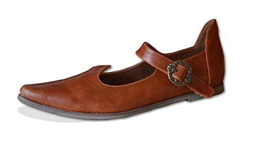 CP-Schuhe Mittelalter Schuhe Prinzessin Herzelinde (42)