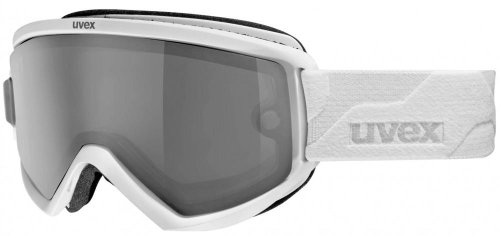 Uvex Fire Take Off Polavision Skibrille - white mat