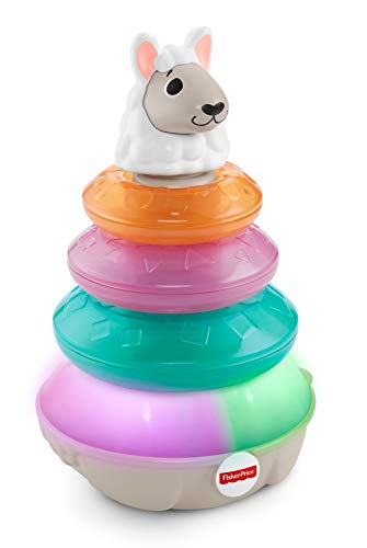 Fisher-Price Linkimals Lights & Colors Llama, Multi Color