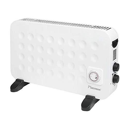 Bestron Calefactor eléctrico convector con protección cont