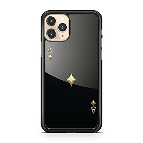 Ace Of Spades Card Blackjack Juego de cartas Cool Colorido Teléfono Carcasa Carcasa Carcasa Modelo Compatible con Apple Compatible con iPhone 5S
