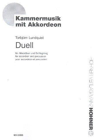 Duell : für Akkordeon und Schlagzeug