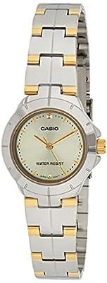 CASIO LTP-1242SG-1 - Reloj con movimiento cuarzo, para mujer, color multicolor