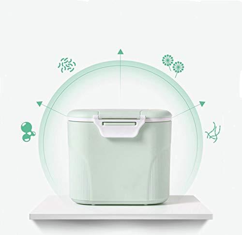 Sunshine smile milchpulver aufbewahrung,Milchpulver-Spender,Tragbarer Baby Milchpulver Behälter,milchpulver container mit Gleichmacher 600ML/280ML (Grün (large))