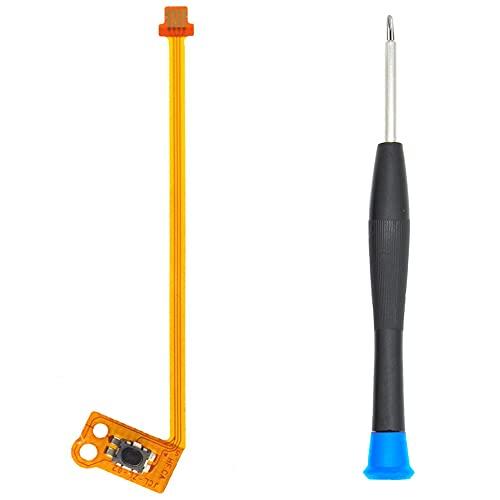 MMOBIEL Cable flexible de cinta de botón ZL compatible con el mando Joy-Con de la Nintendo Switch. Incluye destornillador de tres puntas