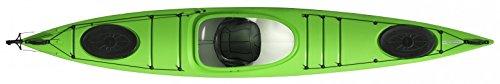 Tahe Marine Lifestyle 420PE preiswertes Tour Kayak Mare Kayak principianti fiscale, verde, Mit Ruder