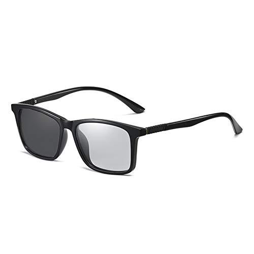 EYEphd Gafas de Lectura Anti-Ultravioleta fotocromáticas Inteligentes para Hombres, Gafas de Sol de hipermetropía HD para Exteriores para Ancianos dioptrías +0,75 a +3,0,02,+2.75