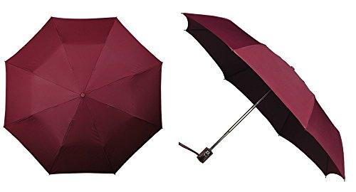 miniMAX, Open&Close Paraplu glasvezel - Bordeaux rood