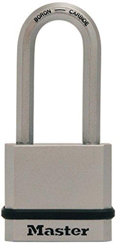 Master Lock M530XQLH Magnum Solid Steel Keyed Alike Padlocks 1 Pack