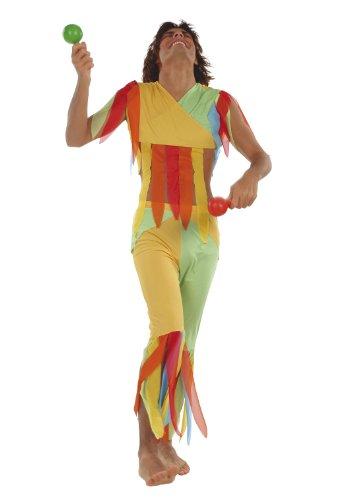 Cesar - E856-001 - Costume - Déguisement - Homme Carnaval de Rio - Taille Unique