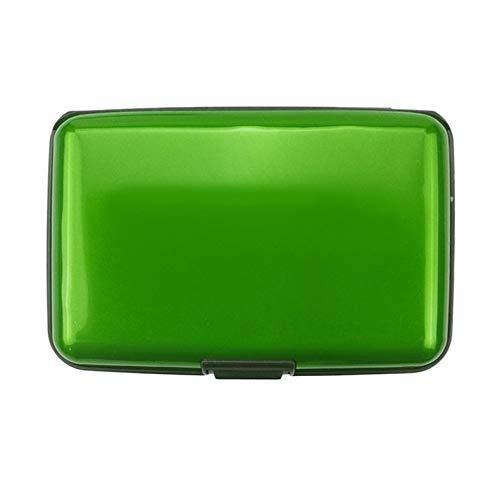 ghfcffdghrdshdfh creditcard portemonnee houder aluminium metaal waterdicht anti-magnetisch case houder